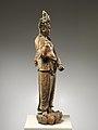 元至正十九年 彩繪木雕觀音菩薩像(柳木胎)-Bodhisattva Avalokiteshvara (Guanyin) MET DP223482.jpg