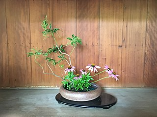 a school of Ikebana, known for its innovative style
