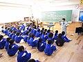 金屋石を使っての授業の様子(2014.12.3).JPG