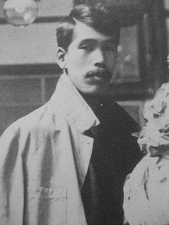 Kōtarō Takamura - Kōtarō in 1911, aged 29