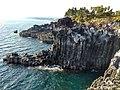 제주 중문대포해안주상절리대 (Jeju Jungmun Daepo Jusangjeolli Cliff).jpg