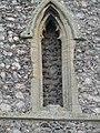 -2020-11-12 Blind window, west facing elevation, All Saints, Upper Sheringham.JPG