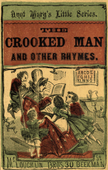 Aunt Mary's Little Series. The Crooked Man And Other Rhymes.