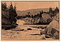 01898 Wasserfall des Prut bei Dora in den Karpaten von Roman Kochanowski.jpg
