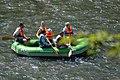 02018 0367 Schlauchboottour auf dem Sanfluss durch die Ost-Beskiden, Oberes Santal in Miedzybrodzie.jpg