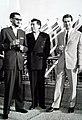 02 - 1961. Pekic, Nikola Milosevic i Zdravko Velimirovic.JPG