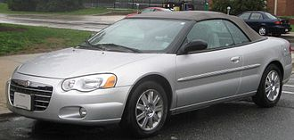 2004-2006 Chrysler Sebring convertible (US) 04-06 Chrysler Sebring convertible.jpg