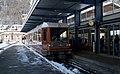 05.02.19 Zermatt GGB Bhe 4 6 3084 and Bhe 4 8 3054 (46978175902).jpg