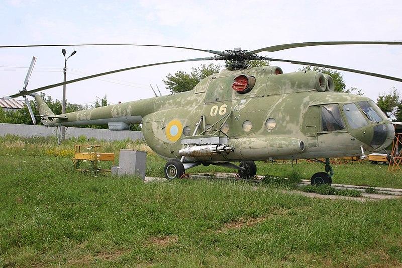 File:06 Yellow Mil Mi-8 T Hip Ukrainian Airforce (7724093488).jpg