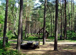Gmina Nowe Warpno - Image: 0905 Puszcza Wkrzańska Alt Tur ZPL