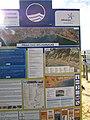 10-12-2016, Information board, Praia do Barranco das Belharucas, Olhos de Água.JPG