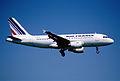 103co - Air France Airbus A319-111; F-GRHH@ZRH;11.08.2000 (5326795075).jpg