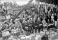 12-7-25, Dormans, fête commémorative de la (2e) victoire de la Marne, général Augustin Sérot Almeras Latour (à droite), général Canelli (tout à gauche) - (photographie de presse) - (Agence Rol).jpg