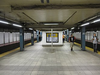 125th Street (IRT Lexington Avenue Line) - Image: 125th Street IRT 001