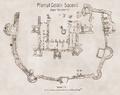 1470 - Planul cetatii Suceava Rosetti arta 211.png