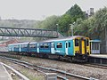 150257 to Aberdare at Pontypridd Railway station (13960275674).jpg