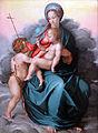 1533 del Conte Maria mit dem Kind und dem Johannesknaben auf Wolken anagoria.JPG