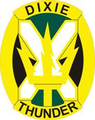 155th Armored Brigade Combat Team - Image: 155 Arm Bde DUI