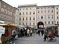 1571 - Salzburg - Universitätsplatz - Looking east.JPG