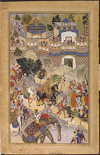 Akbars conquest of Gujarat