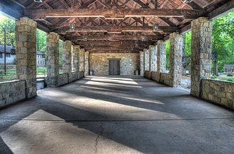 Indian Springs State Park - Image: 15 14 167 spring house