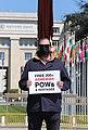 16 Protesters in Geneva demand the release of Armenian POWs, 15 April 2021.jpg