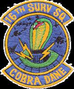 16th Surveillance Squadron-Emblem