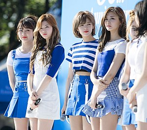 Twice (band) - Twice in an event for Pocari Sweat in May 2017