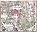 1730 Seutter Map of Turkey (Ottoman Empire), Persia and Arabia - Geographicus - MagniTurcarum-seutter-1740.jpg