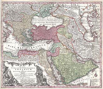 Eyalet - 1730 map