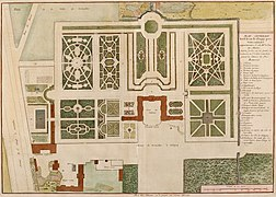 1730 plan of the gardens and property of the Château de Clagny.jpg