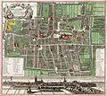 1740, Haga Comitum (Germ. Graven-Haag Gall. la Haye).jpg