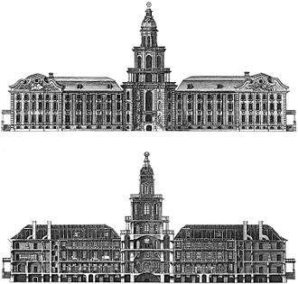 Kunstkamera - Kunstkamera in 1740th