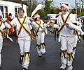 18.12.16 Ringheye Morris Dance at the Bird in Hand Mobberley 025 (31615292711).jpg