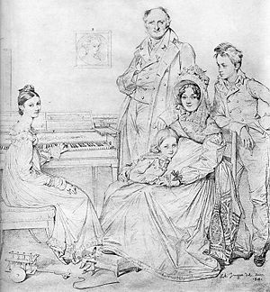 Camille-Marie Stamaty - Image: 1818 Famille Stamaty Ingres
