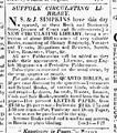 1822 CirculatingLibrary July17 BostonDailyAdvertiser.png