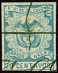 1866 20c EU de Colombia plume Mi41.jpg