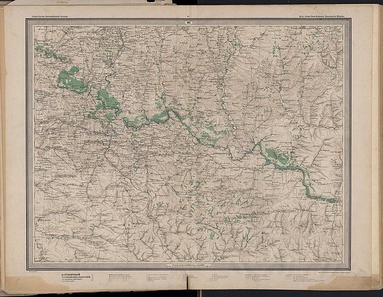 Карты стрельбицкого с привязкой - b4