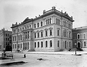 Courthouse Place - 1874 - 1892 Cook County Criminal Courthouse, which was replaced by the present structure