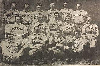 1890 Buffalo Bisons season - Buffalo Bisons, 1890
