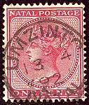 1892 1d Natal Umzinto Yv44 SG99.jpg