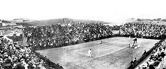 1909 International Lawn Tennis Challenge - 1909 Davis Cup Challenge Round match between Australasia and the United States at the Double Bay Grounds, Sydney, Australia on 27–30 November 1909