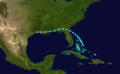 1914 Atlantic tropical storm track.png