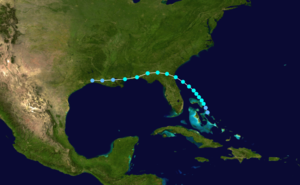 1914 Atlantic hurricane season - Image: 1914 Atlantic tropical storm track