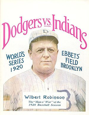 History of the Brooklyn Dodgers - Image: 1920 World Series program