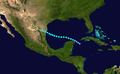 1944 Atlantic tropical storm 5 track.png