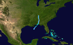 1948 Atlantic tropical storm 2 track.png