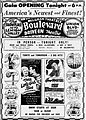 1949 - Boulevard Drive-In Theater Grand Opening Ad - 19 Oct MC - Allentown PA.jpg