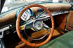 1952 Kaiser Manhattan interior, Four Door Sedan Model K 522 - Automobile Driving Museum - El Segundo, CA - DSC01457.jpg
