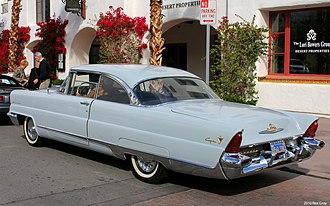Lincoln Capri - 1956 Lincoln Capri coupe rear